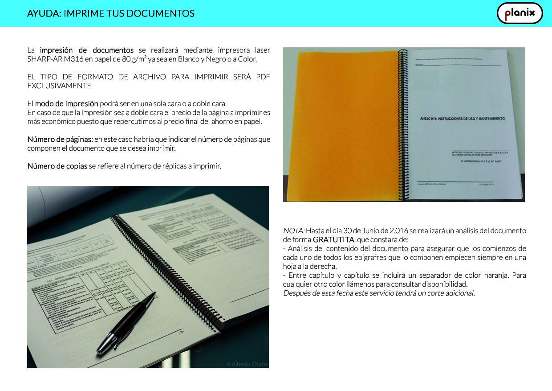 Ayuda Imprime tus Documentos